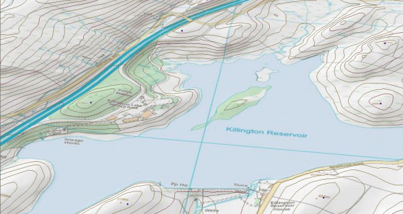 Ordnance Survey Terrain 5 Height Product - Vector
